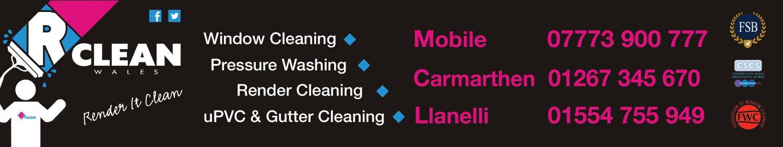 Rclean Wales Window Cleaners Swansea – Llanelli – Neath – Ammanford – Carmarthen