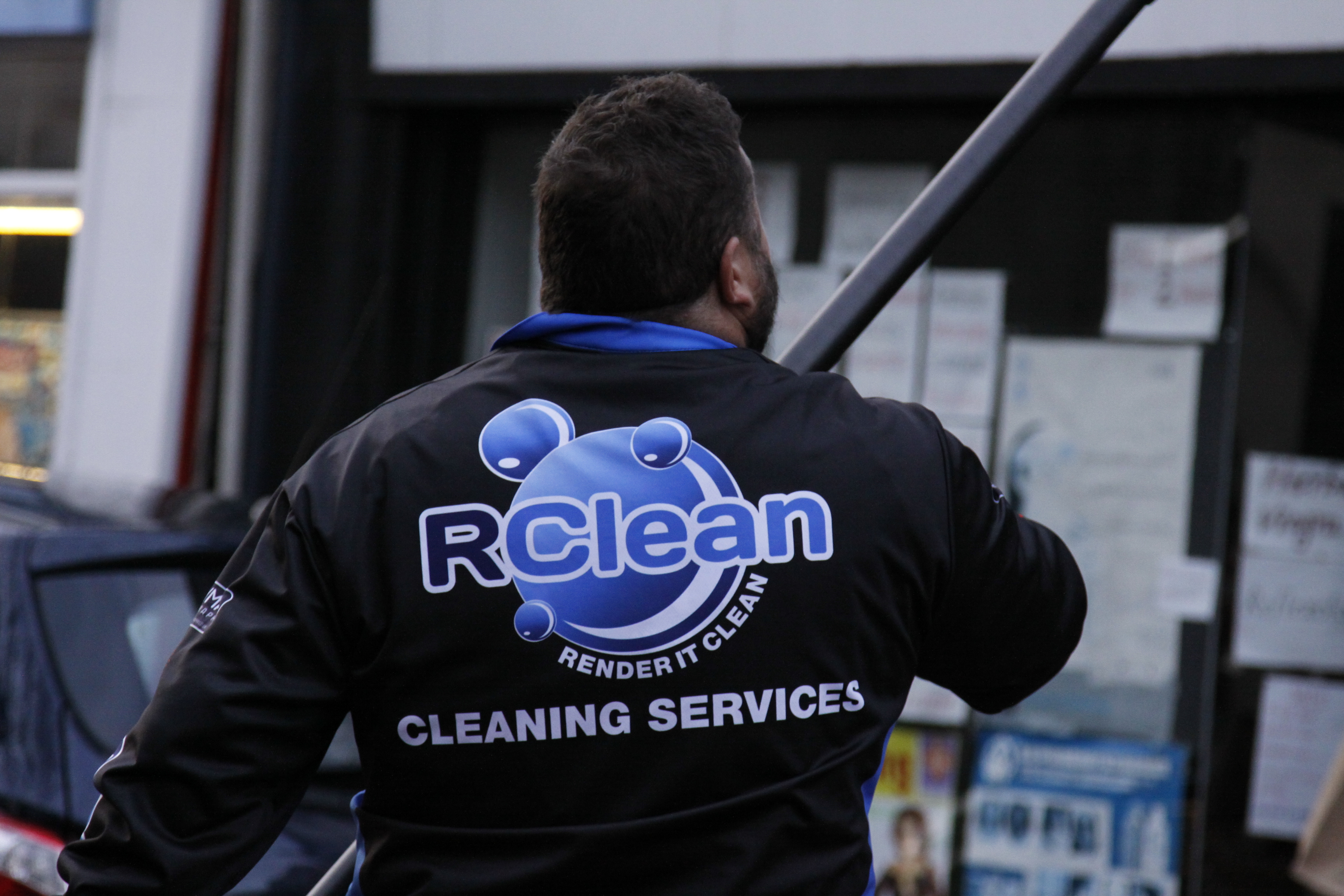 Window cleaning services Wales