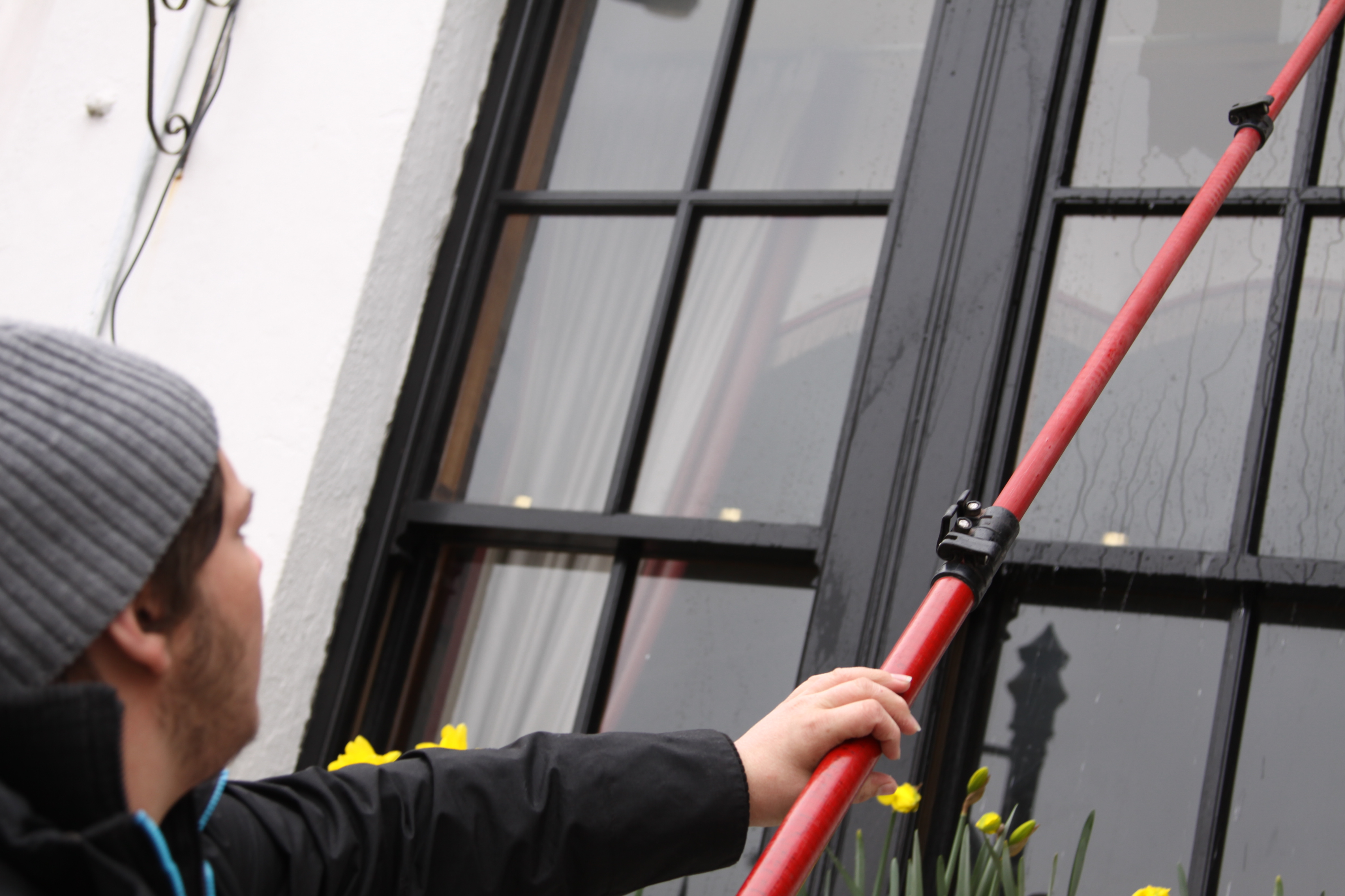 Cleaning residential windows cleaning commercial windows